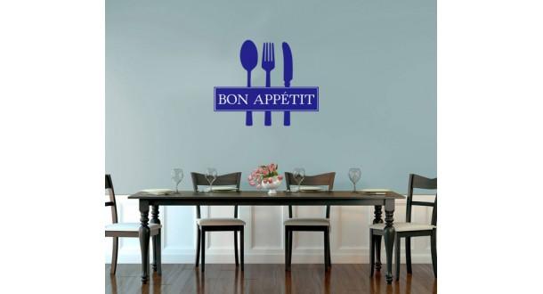 Bon Appetit muurtekst