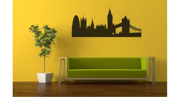 Londen muursticker