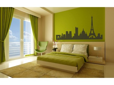 Parijs muursticker